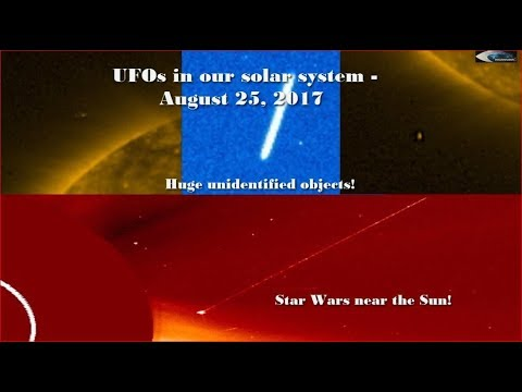 nouvel ordre mondial | UFOs in our solar system - August 25, 2017