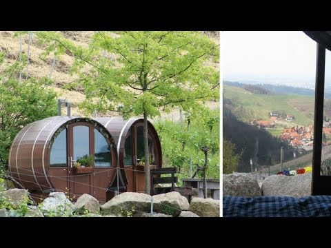 The Vinnie Penn Project - Hotel Lets You Sleep In A Giant Wine Barrel; Wine Included