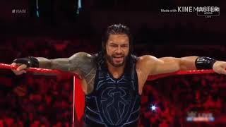 Roman Reigns vs Sunil Singh :Raw