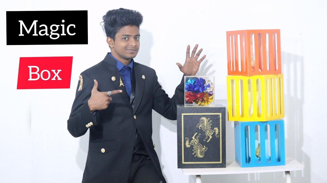 जादूगर नाजू की कलाकारी / Magician Magic Show in india