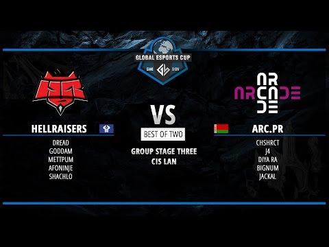 HellRaisers vs Arcade.PR @Global eSports Cup (Igromir 2015 Lan)