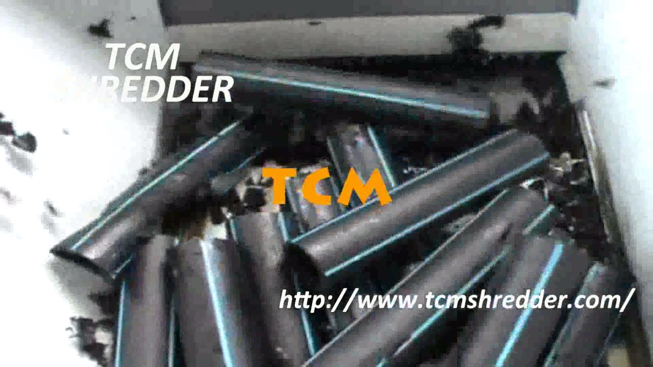 Hdpe pipe shredder manufacturers in india
