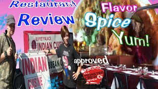 American Kids Eat Indian/ Resturant Review/ Buffet Palace/ Indian Cuisine