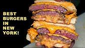 The BEST BURGERS in New York! KIMCHI Wagyu BurgerSTEAKHOUSE Burger