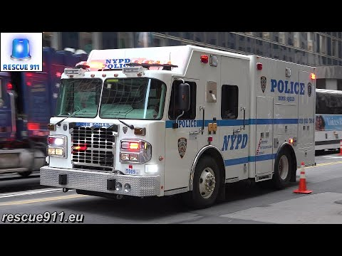 [NYC] Emergency vehicles @ UN General Assembly - 6/10