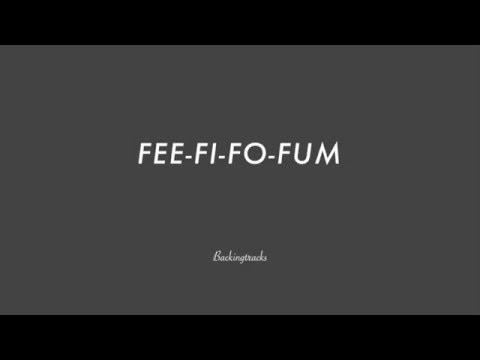 FEE-FI-FO-FUM- Backing Track Play Along Jazz Standard Bible 2 Guitar