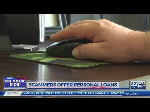 Scammers Offer Personal Loans
