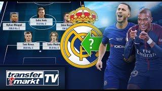 500 Mio. € Transferbudget – Real-Transferoffensive mit Hazard, Mbappé & Co.? | TRANSFERMARKT