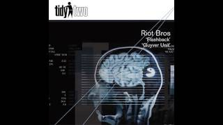 Riot Bros - Flashback (Original Mix) [Tidy Two]