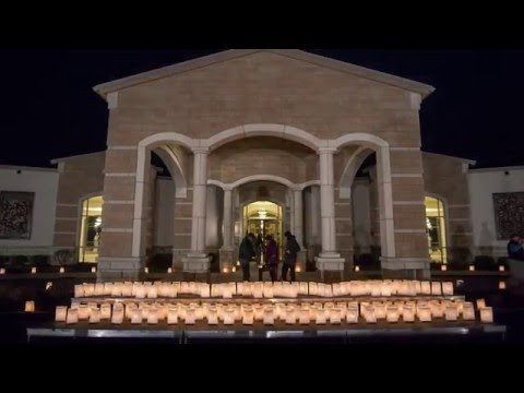 Cemetery lights remembrance luminaries