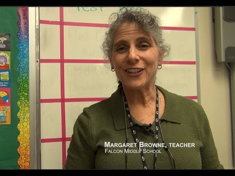 Margaret Browne, Science Teacher - Falcon Middle School