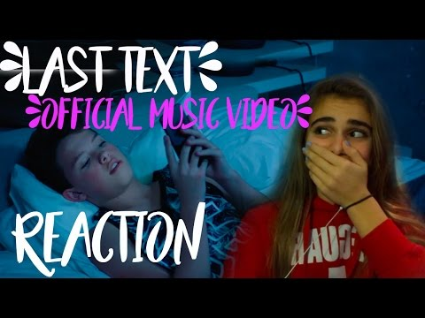 Jacob Sartorius - Last Text (Official Music Video) Reaction