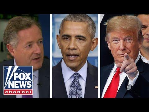 Piers Morgan vs. Obama Wasn't Saint vs. Trump Isn't Devil