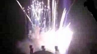 Genesis: End of show fireworks