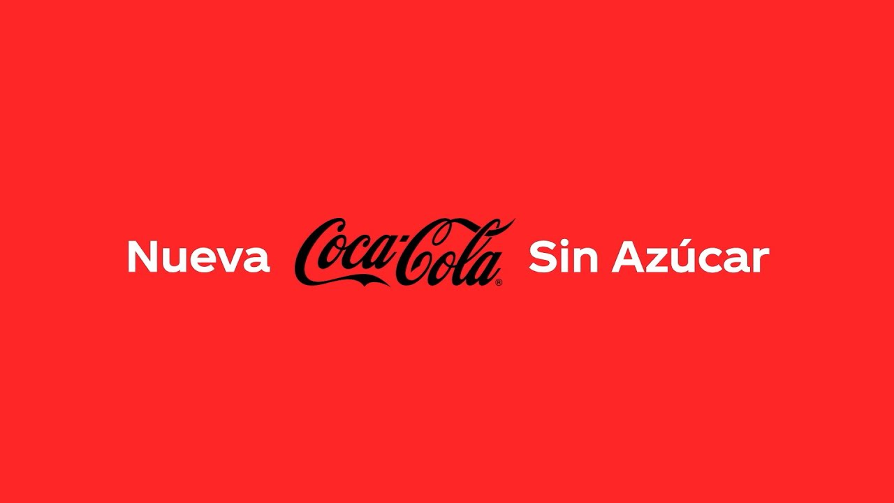 """Nueva Coca-Cola Sin Azúcar. """"Pruébenla y respondan ¿es la mejor Coca-Cola de todas?"""""""
