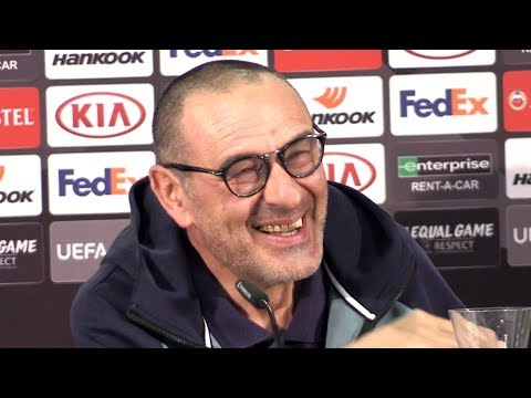 Maurizio Sarri Full Pre-Match Press Conference - Frankfurt v Chelsea - Europa League Semi-Final