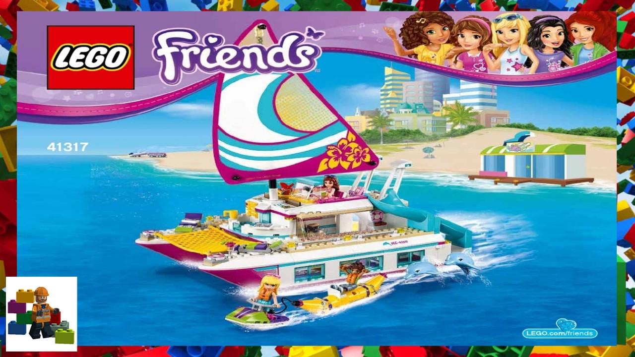 Wonderful LEGO instructions - Friends - 41317 - Sunshine Catamaran - YouTube JP-47