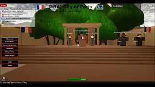 ROBLOX -[FRA]- Republic of France Press Conference 7/28/13 Part 1