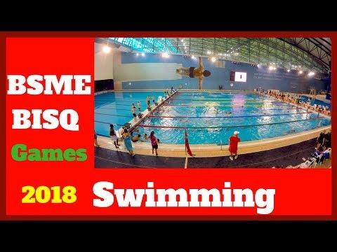BSME games 2018 Swimming BISQ games Aspire dome Aspire zone Doha Qatar u13