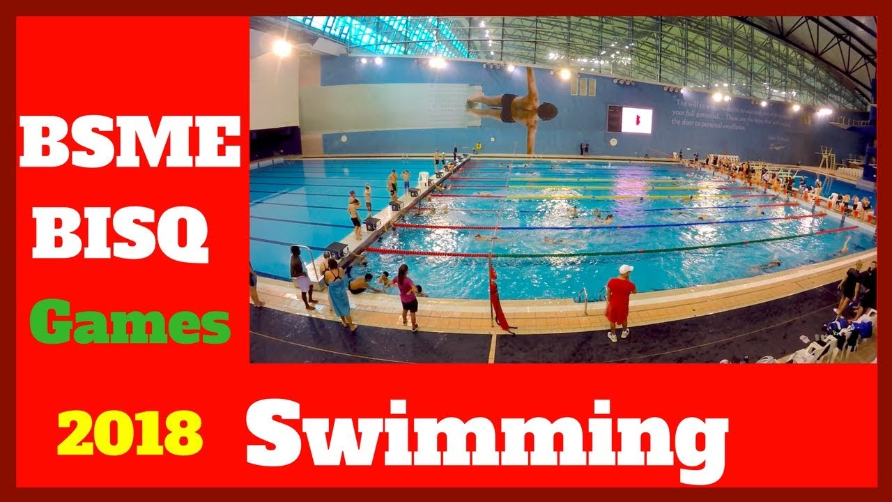 Aspire Qatar Swimming BSME games 2018 Swimmi...
