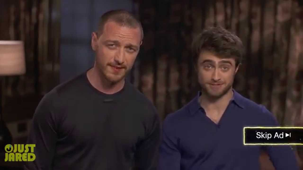 James Mcavoy And Daniel Radcliffe