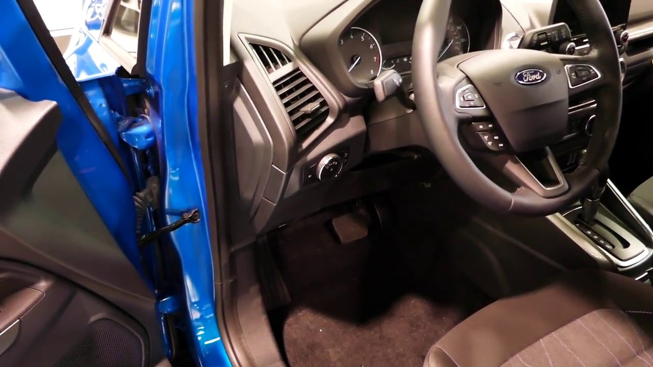 New 2019 Ford Ecosport Compact Suv How To Open The Hood Access