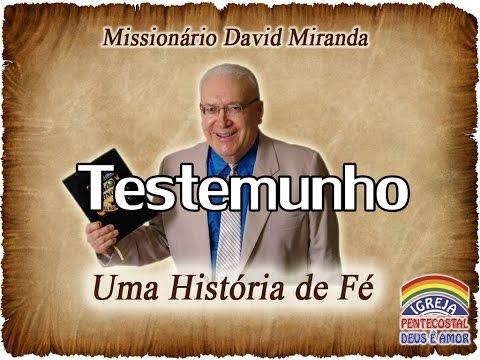 Testemunho de conversão Davi Miranda Completo