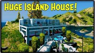 Huge Island House, Audi RS7-X & Bentley Continental GTin GTA 5! (Mod Showcase #25)