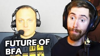 Asmongold Reacts to Ion WoW Game Director Interview & Future of BFA