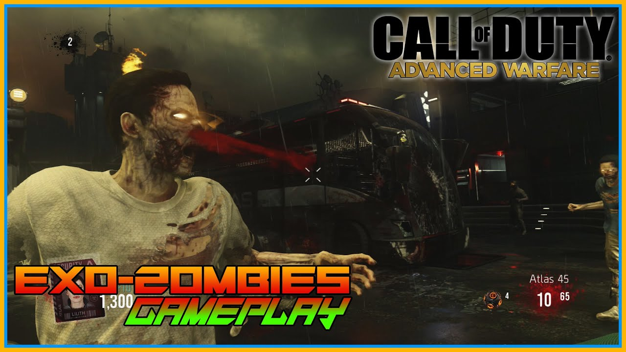 call of duty advanced warfare how to get zombies