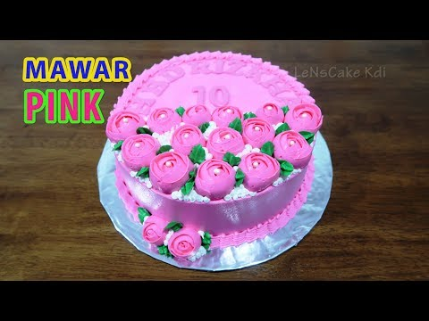 Dekorasi Kue Ulang Tahun Anak Perempuan Kue Ultah Bunga