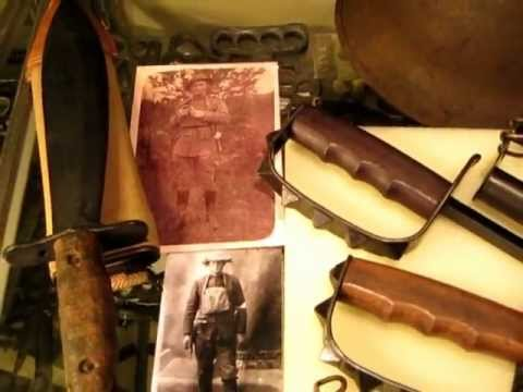Original Wwi Us Army Trench Knives 1917 1918 Knuckle