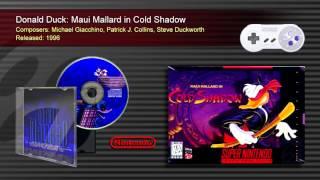 Maui Mallard in Cold Shadow (Full OST) - SNES