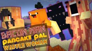 Minecraft Adventures of Bacon Man : DRAGON GAMES!
