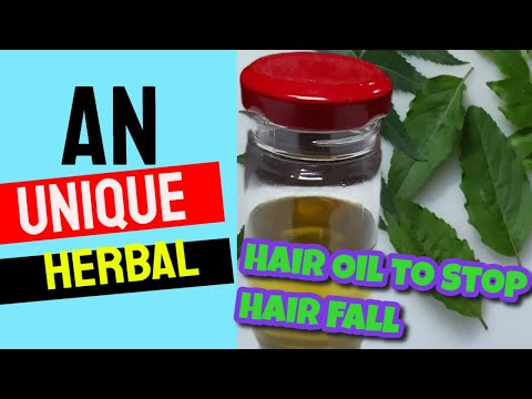 An Unique Herbal Hair Oil to Stop Hair Fall and Promote Hair Growth. Prevents Scalp Acne and Itching - 동영상