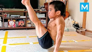 Video SUPER KID or Baby Bruce Lee? - Ryusei Imai | Muscle Madness download MP3, 3GP, MP4, WEBM, AVI, FLV November 2018