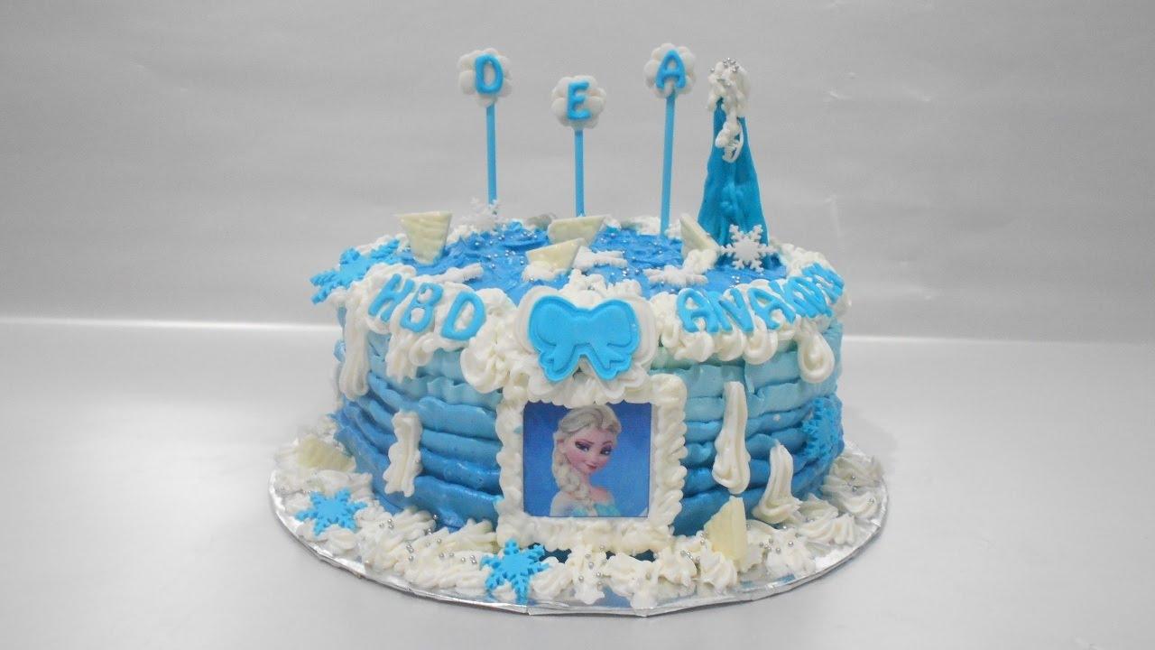 Cake Frozen Elsa How to Make Easy YouTube