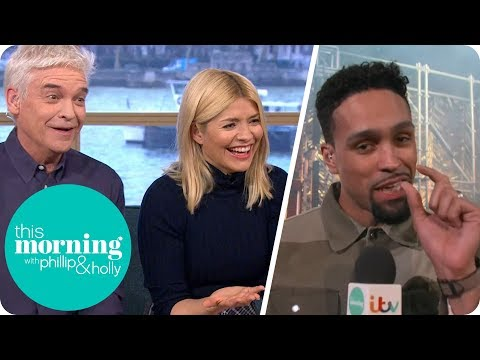 Which Celebrity Does Everyone Feel 'Small' Next to in The Real Full Monty?   This Morning