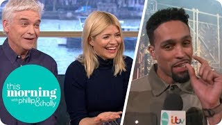 Which Celebrity Does Everyone Feel 'Small' Next to in The Real Full Monty? | This Morning
