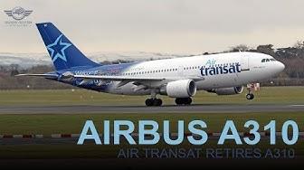 Air Transat Retires The Last Airbus A310