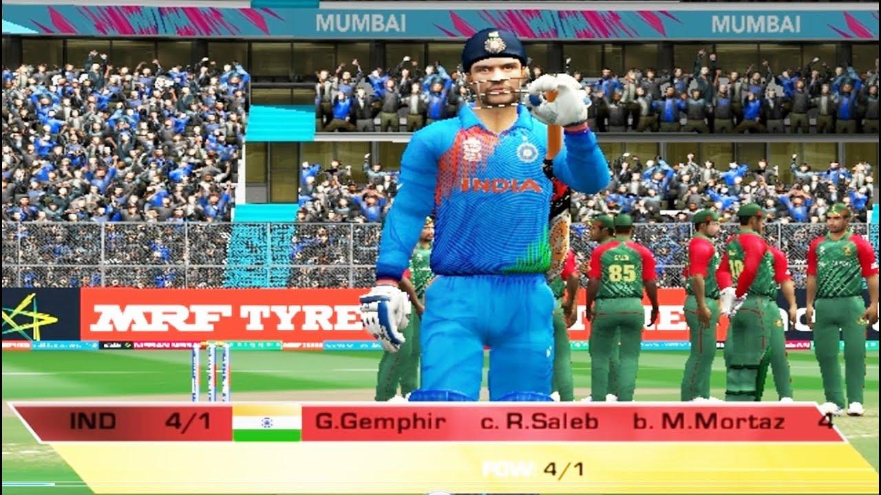 Ea Sports Cricket 2017 Pc Gameplay India Vs Bangladesh Part1
