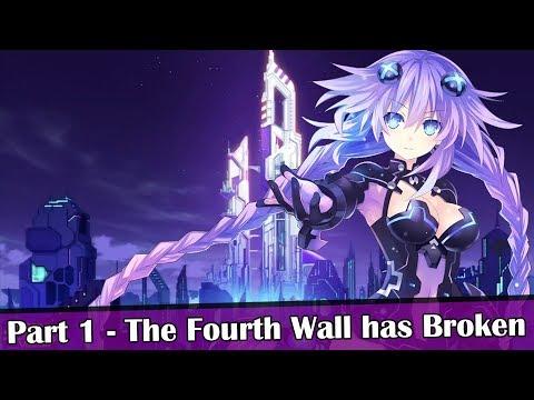 Hyperdimension Neptunia Re;Birth1 [JP Voiceover] Part 1 - The Fourth Wall has Broken