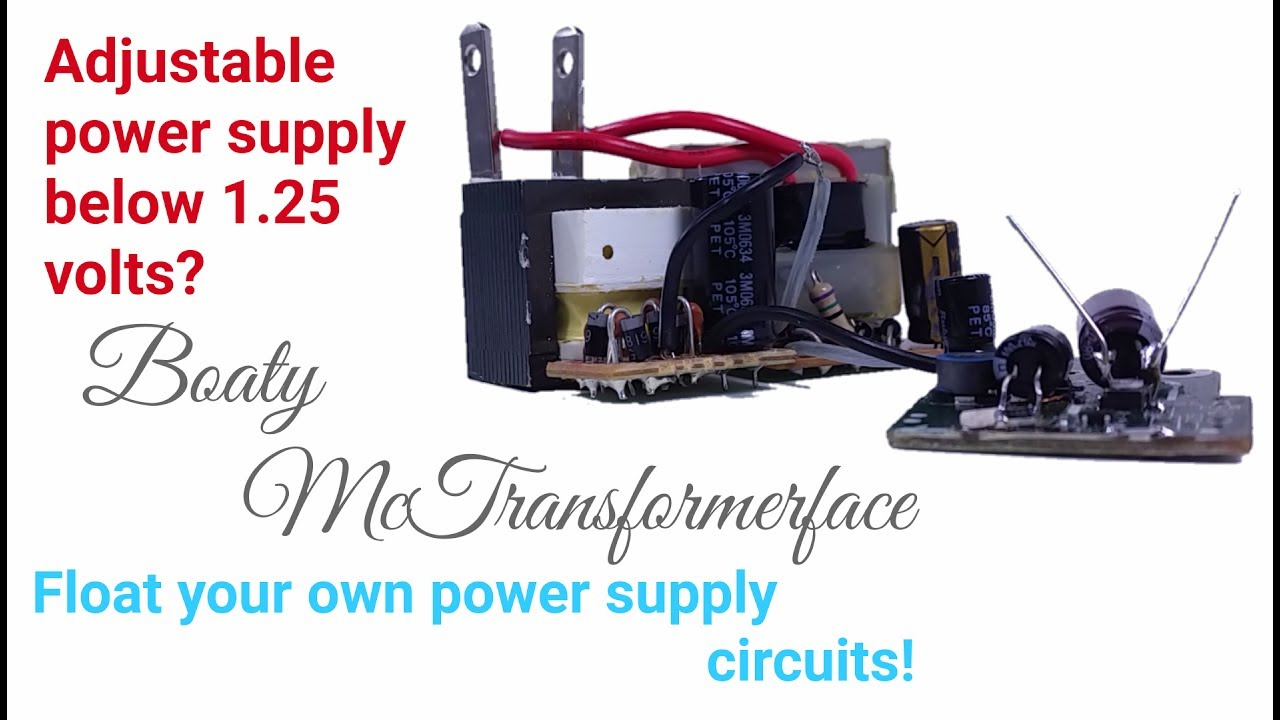 Float a Bench Power Supply Circuit for Variable Voltage below 1 Volt with a  DC Adjustable Regulator