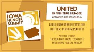 2018 Iowa Hunger Summit: The Economics of SNAP