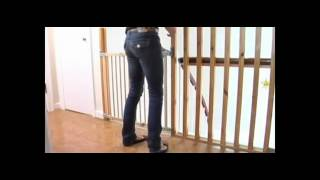 Babydan Flexi Fit Wooden Stair Gate