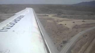 AEROPOSTAL MD-80  YV 444T ATERRIZAJE EN PORLAMAR-ISLA DE MARGARITA 19/07/11