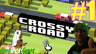 Crossy Road Gameplay Part 1 - The Dark Lord (IPAD)