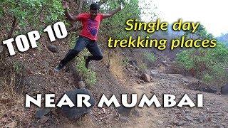 Top 10 single day trekking places near Mumbai   Travelling India