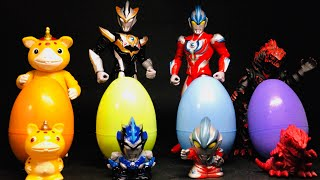 Ultraman Suprise Egg Ultra Egg  Ultraman Taiga not for sale stickers ウルトラマン サプライズエッグ Future KidsTV