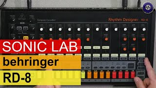 SonicLAB: Behringer RD-8 Drum Machine - First Look